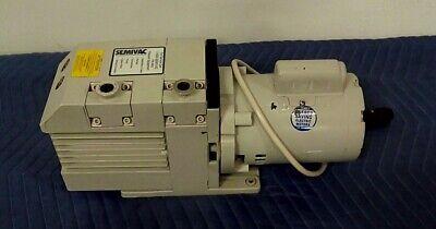 Lh Leybold Trivac D8b Vacuum Pump W Leeson Motor M4c17dc3f