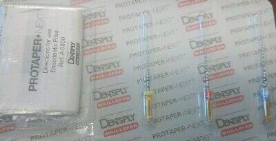 Dentsply Tulsa Protaper Next X1-x3 25 Mm Assorted Files Endodontic Dental