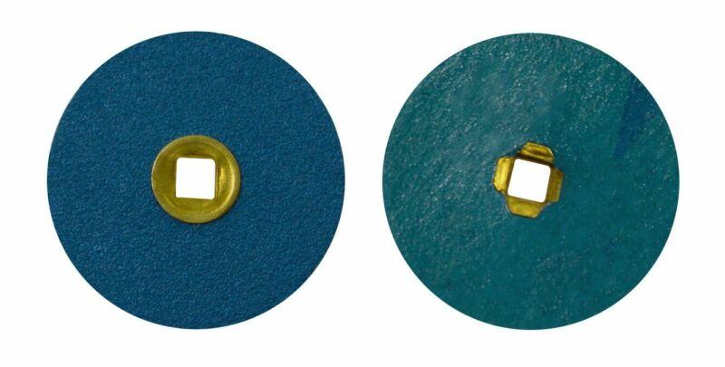 "50/Pk Zirconia Alumina Platinum White Metal 7/8"" Coarse Jewelry Sanding Discs"