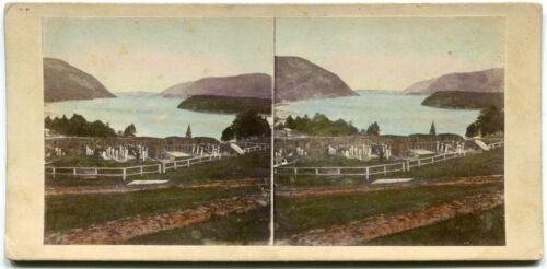 West Point NY New York USMA Cadets & Artillery 1860s E. Anthony Stereoview Photo