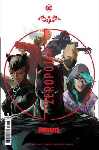 Batman Fortnite Zero Point #1 3rd Print Variant w/ redeemable code Presale 6/1