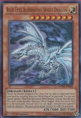 Yugioh Blue-Eyes Alternative White Dragon MVP1-EN046 1st Ultra Rare Near Mint Fa