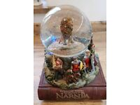 Chronicles of Narnia snow globe - Disney store exclusive