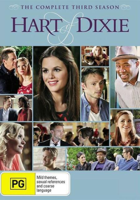 Hart Of Dixie SEASON 3 : NEW DVD