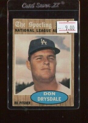 1962 Topps #398 Don Drysdale All-Star (2nd Copy)