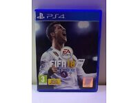 **NEW - FIFA 18 - SONY PLAYSTATION 4 PS4 - FOOTBALL SOCCER VIDEOGAME**