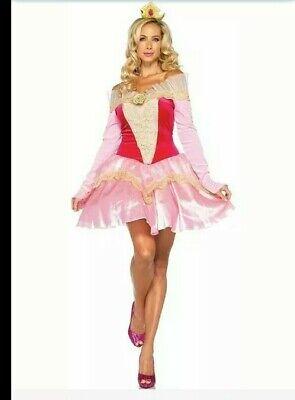 Sleeping Beauty Dress Adult (Disney Princess Aurora Sleeping Beauty Fancy Dress Halloween Sexy Adult)
