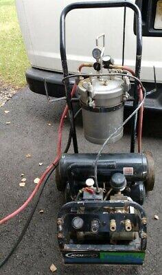 Hvlp Spray Machine Accuspray W Hoses And Spray Gun