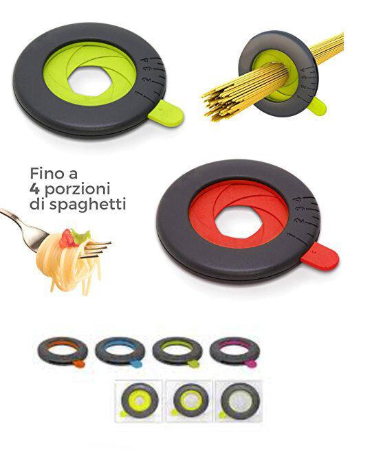 Misura spaghetti misuratore dosatore fino a 4 porzioni pasta lunga vari colori