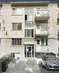 5 1/2 Appartement a  louer Rénové Villeray pres du metro Fabre