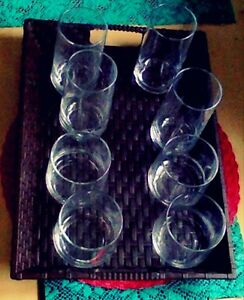 Brand New set of 8 glasses