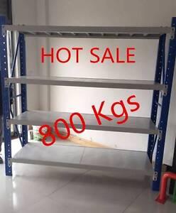 50% OFF 800Kgs Longspan Metal Shelves Storage Racking Shelving Dry Creek Salisbury Area Preview