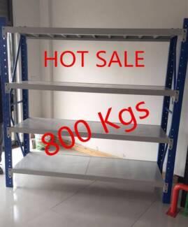 50% OFF 800Kgs Longspan Metal Shelves Storage Racking Shelving