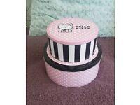 Hello Kitty cake tins