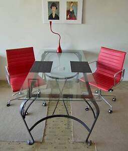 Glass top dining table Marcoola Maroochydore Area Preview