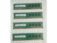 8GB Samsung 1333MHz DDR3 Ram.