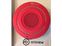 OROVIEW SPEAKER BLUETOOTH WIRELESS  WATER RESISTANT MUSIC AUDIO DOCK SOUND RED
