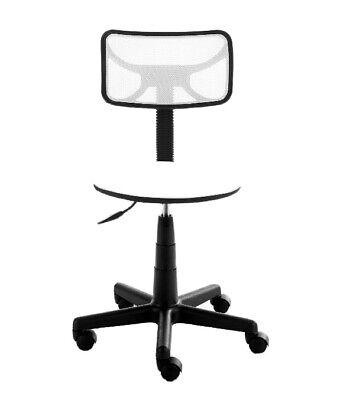 Urban Shop Swivel Mesh Office Chair White