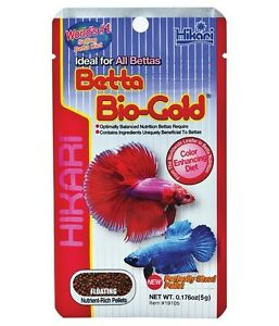 Hikari-Betta-Bio-Gold-5g-Bettas-Siamese-Fighting-Fish-Tropical-Fish-Food
