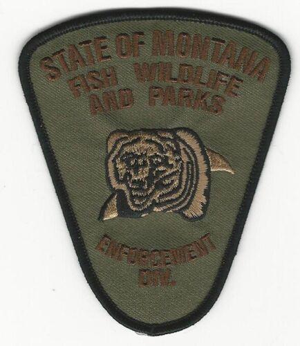 Fish & Wildlife State Montana MT patch