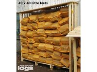 LOGS FOR SALE - Kiln Dried Firewood and Kindling - QUALITY - Ready to Burn Collect or Delivery