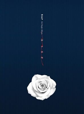 B.A.P [ROSE] B Ver. 6th Single Album CD+Photo Book+Photo Card K-POP SEALED