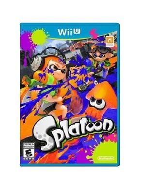 Nintendo 101215A Splatoon (Wii U) - Video Game