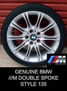 """Genuine 18"""" BMW ///M DOUBLE SPOKE 135 Staggered Wheels Penrith Penrith Area Preview"""