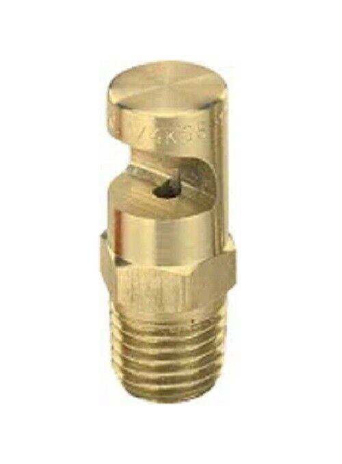 """TeeJet Fieldjet Nozzle Spray Tip 1/4"""" MPT 1.0 GPM @ 40 PSI 21 Foot Width"""