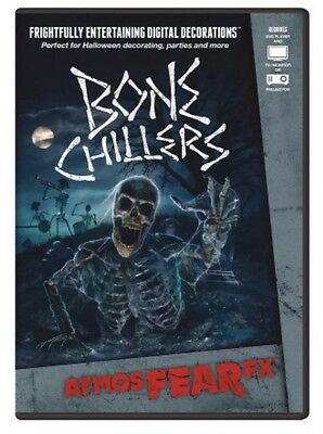 Bone Chillers DVD Halloween Special FX AtmosfearFX Projector Undead Skeletons - Bone Chillers Dvd