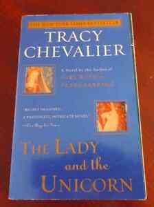 Bouquin en Anglais : The Lady and the Unicorn / Tracy Chevalier
