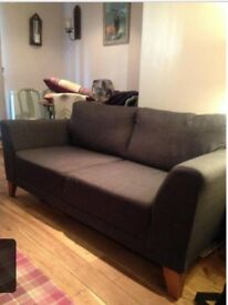 Grey Harveys sofa