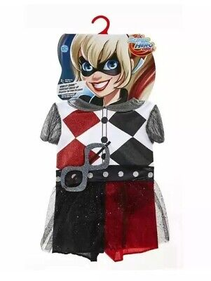 DC Super Hero Harley Quinn Every Day Dress-Up Costume For Girls 4-6