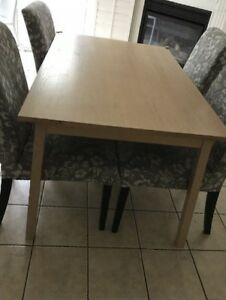 IKEA Dining Set 6 Chairs