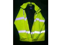 Bizflame unisex Jacket. Health and Safety wear. Quick SALE