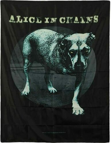 Alice In Chains Tripod Dog Grim Grin Fabric Poster Flag 30x40""