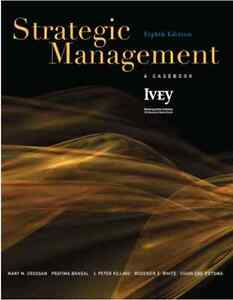 Strategic Management: A Casebook - Hardcover - Eighth Edition