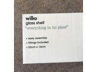 Brand New - Glass Bathroom Shelf