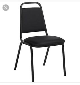 Looking for 6-8 stackable chairs