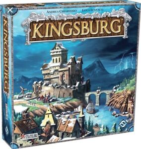 Kingsburg Board Game First Edition