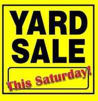 Multi Family Yard Sale and Craft Sale