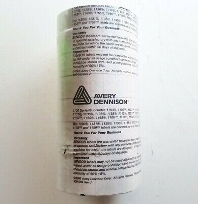 Avery Dennison Monarch 1100 Series Price Senso Labels Pack Of 8 Rolls White