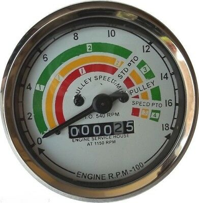 Fordson Power Major Super Major Tractor Tachometer
