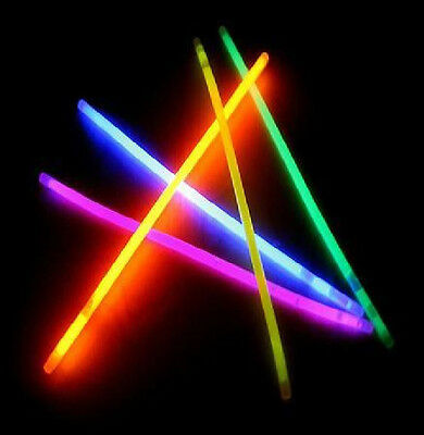 Multi-Colored 8 Inch Glow Bracelets! 100 per purchase!  Best - Glow Stick Prices