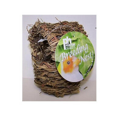 PREVUE FINCH TWIG COVERED NEST BED BIRD GREAT FOR BREEDING. FREE SHIP IN THE USA