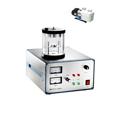 Plasma Sputtering Coater With Vacuum Pump Gold Target One-year Warranty
