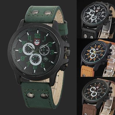 Multi Function Military S-Shock Sports Watch LED Analog Digital Waterproof Alarm