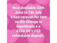 3 bed caravan for hire ingoldmels