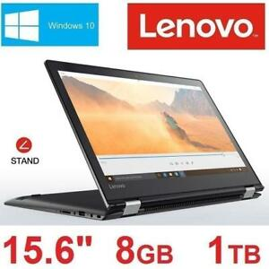 "OB LENOVO FLEX4 NOTEBOOK 15.6"" 80SB000QCF 184103230 P4405U 8GB 1TB HD WIN10 LAPTOP COMPUTER PC OPEN BOX"