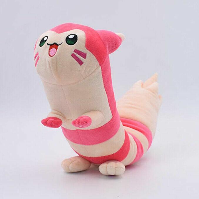 "Shiny Furret Plush Soft Toy Doll Stuffed Animal Teddy evolves from Sentret 19"""